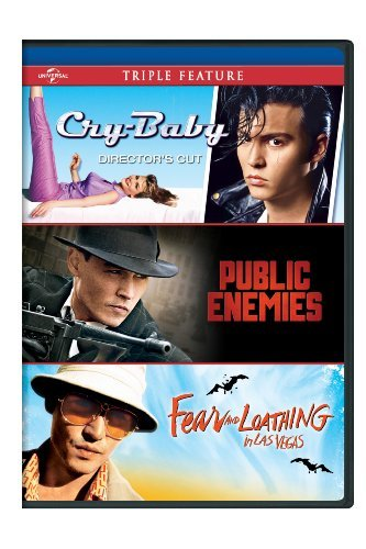 Cry-Baby / Public Enemies / Fear and Loathing in Las Vegas Triple Feature by Johnny Depp