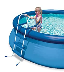 Intex echelle de piscine 3 chelons bleu 91 cm - Echelle piscine intex ...