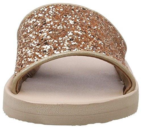 Beige Glitter Francis dusty Nude Esprit Damen Pantoletten Iw8pAUq