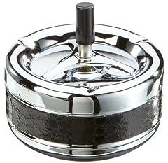 Idea Regalo - H.G Handels 123.068 Posacenere a pressione 13,5 cm a strisce