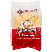 HeatPaxx Fußwärmer – Hauchdünne Zehenwärmer für unterwegs - endlich wieder warme Füße – 10 x 2 Wärmepads im praktischen Vorteilspack
