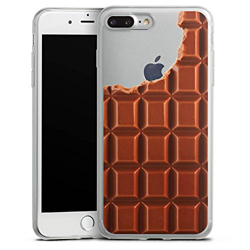 Apple iPhone X Slim Case Silikon Hülle Schutzhülle Transparent mit Motiv Schokolade Essen Silikon Slim Case transparent