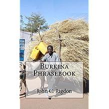 Burkina Phrasebook (English Edition)