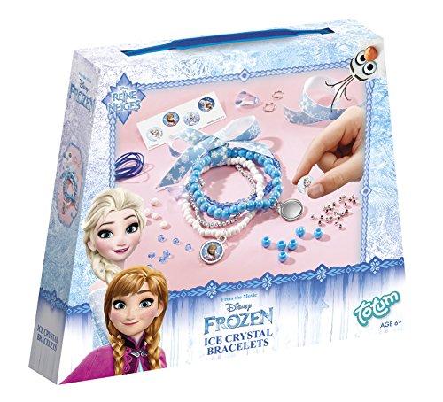Disney Frozen / Die Eiskönigin / Bastel-Set:  Bastel Deine Eiskristallarmbänder
