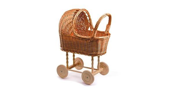 Puppen stubenwagen aus korb: amazon.de: spielzeug