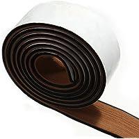 Moqueta Barco 240 x 5.8 x 0.5 cm Marrón y Negro Suelo Barco Tipo Teca con