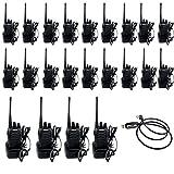 Retevis H-777 Funkgerät UHF mit Headset 1500mAh Standladeschale (20er-Set, 1 USB-Kabel)