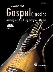 Gospel Classics: Arrangiert für Fingerstyle-Gitarre (Noten/ TAB/CD)
