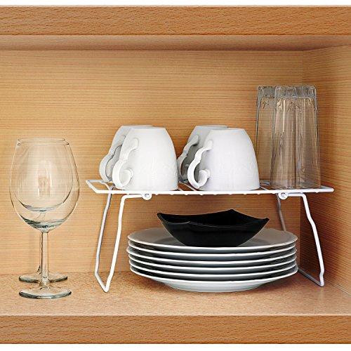 Art Moon Support Ripiano Aggiuntivo Pieghevole per Pensili Cucina, L33xA14xP18 cm