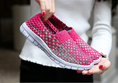 Sabe , Damen Sneaker Red02