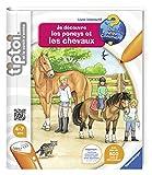 Ravensburger 00647 - Tiptoi - Livre - Découvre Poney - Chevaux