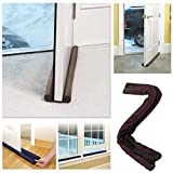 #5: Panzl Twin Door Draft Guard. Stop Unwanted light and Stop escaping of cool air from air conditioner split or Window