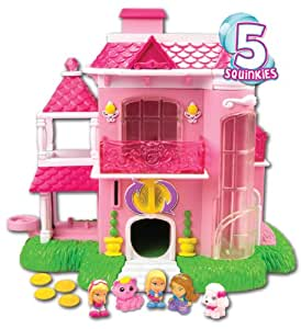 Squinkies 75327 barbie distributeur la maison de r ve de barbie amazon - Maison de reve barbie ...