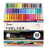 Best Art Markers - Bianyo Fineliner Marker Pens Art Supplies-0.4mm Ultra Fine Review