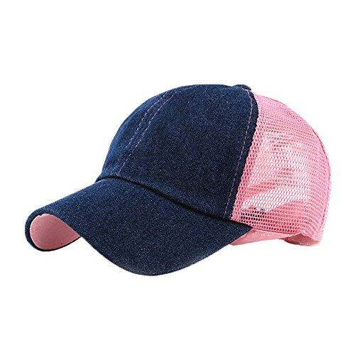Imagen de fangkuai hat  de béisbol ajustable transpirable sombrero de camionero de gorro con visera