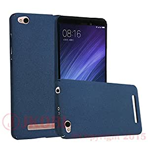 Jkobi 360* Protect Ultra-Thin Matte Textured Hard Back Case Cover For Xiaomi Redmi 4A -Blue