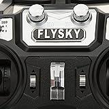 FlySky FS-I6 2.4G 6-Kanal Fernbedienung System 6ch Sender mit FS-iA6B Empfänger für RC Helikopter Multirotor 250 Quadcopter Racing Drohne Flugzeug Dia Vergleich