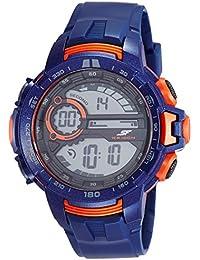 Sonata Fibre (SF) Digital Grey Dial Men's Watch-77074PP03