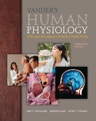 Vander's Human Physiology: The Mechanisms of Body Function by Widmaier, Eric, Raff, Hershel, Strang, Kevin (2013) Hardcover