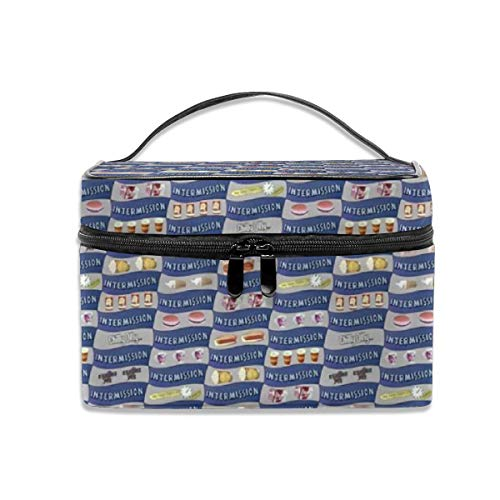 Dean Zip (Portable Travel Toiletry Bag Organizer,Dean's Drive-In Intermission Snacks Cosmetic Bags for Women Girl,Makeup Bag, Storage Bag)