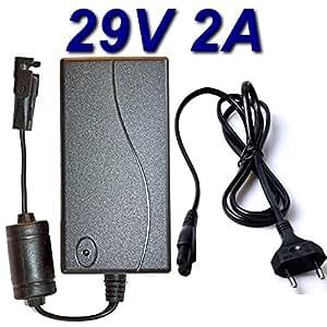 top chargeur adaptateur secteur alimentation chargeur 29v 2a pour canap chaise fauteuil literie. Black Bedroom Furniture Sets. Home Design Ideas