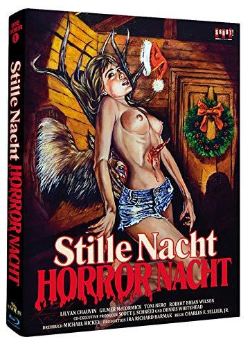 Stille Nacht - Horror Nacht (Phantastische Filmklassiker Nr. 5) - Mediabook/Limited Uncut Edition (Cover C) [Blu-ray]