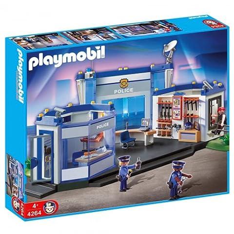 PLAYMOBIL 4264 - Polizei Hauptquartier, international