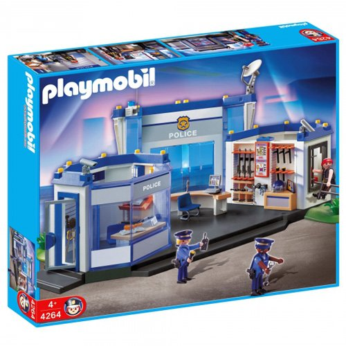PLAYMOBIL 4264 - Polizei Hauptquartier, international