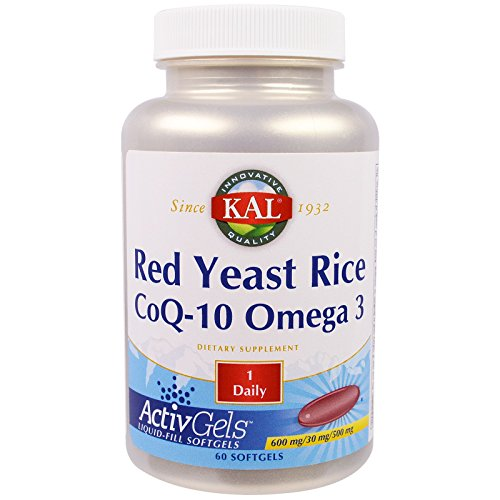 Red Yeast Rice CoQ10 & Omega 3 Kal 60 Softgel
