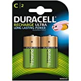 Duracell - pack de 2 piles Recharge Plus Rechargeables - type AA - 1300 Mah