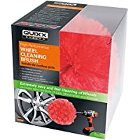 Quixx QWCB1 Wheel Cleaning Brush, Suitable for Cordless Drills and all Wheel Rims Surfaces, Cleans without Scratching the Car Motorcycles and Bicycles Wheels and Rim-bed preiswert