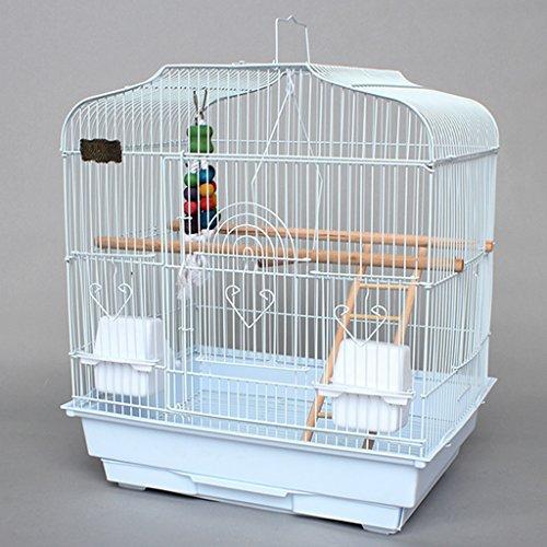 Liuyu · Lebenshaus Papagei Vogelkäfig Große Reproduktion Große Metall Weiß