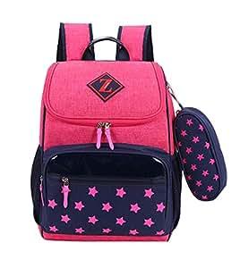 Rucksack für die Schule der Kinder Schulranzen Toddle Rucksack-Rucksack (Pink)