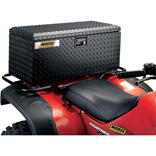 Aluminium ATV Boxes Rear Trunk Cargo Box BLA...-Moose Utility Division 35050048
