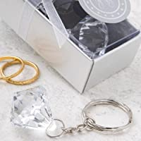 Diamond Design Keychain Cheap Wedding Favors, 48 by Fashioncraft preisvergleich bei billige-tabletten.eu
