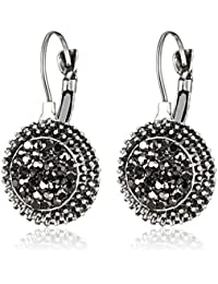 Shining Diva Fashion Jewellery Oxidised Silver Stylish Party Wear Earrings For Women & Girls
