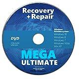 Recovery & Repair CD DVD für Windows 10 & 7 & 8 + Vista + XP Acer, HP, Lenovo NEU