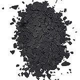 Farbchips für Epoxidharz Bodenbeschichtung Bodenfarbe Colorchips | Schwarz - 5Kg