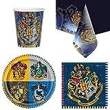 Harry Potter Partygeschirr Pack für 8