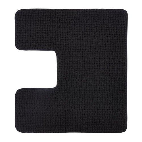 Ikea TOFTBO–Alfombra de Pedestal, Negro–55x 60cm