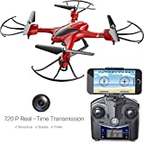 Holy Stone HS200FPV RC drone con telecamera HD wifi Live Feed 2.4GHz 4CH...