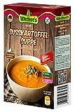 Werner´s Süsskartoffelsuppe, Sweet Potato Soup, 2 Teller, 5 Packungen pro Karton, Beutel Süßkartoffelsuppe für 500 ml Flüssigkeit, glutenfrei, laktosefrei, ohne zugesetzte Aromen, für Vegetarier geeignet,