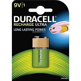 Duracell - Recharge Ultra 9V, pila recargable 170 mAh, 1 unidad (B0002FQXJK)   Amazon price tracker / tracking, Amazon price history charts, Amazon price watches, Amazon price drop alerts