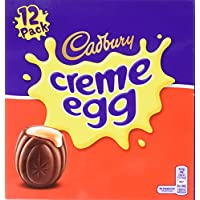 Cadbury Chocolate Creme Eggs, (475 Grams,12 Pack)