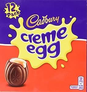 Cadbury Chocolate Creme Eggs (475 Grams,12 Pack)