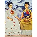 1art1 41235 Frida Kahlo - Die Zwei Fridas Poster Kunstdruck 80 x 60 cm