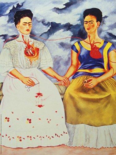 1art1® Frida Kahlo - Las Dos Fridas Póster Impresión Artística (80 x 60cm)