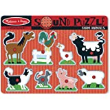 Melissa & Doug 10726 Farm Animals Sound Puzzle