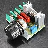 Hohe Qualit�t 2000W Drehzahlregler Spannungsregler SCR Dimmen Dimmer Thermostat Bild