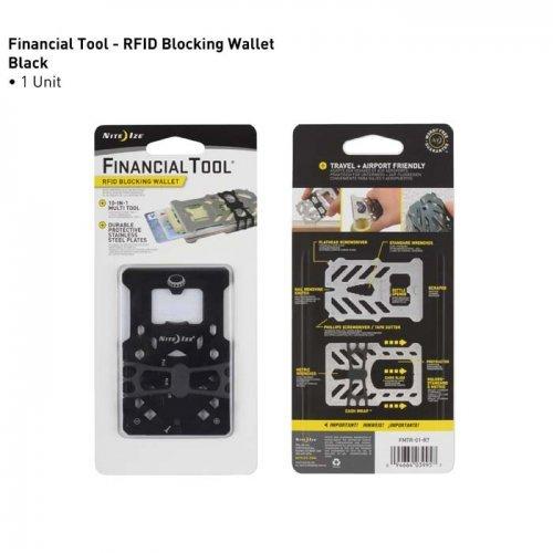 Finanzielle Werkzeug RFID-blockierender wallet-multi-tool Compact wallet-stainless Stahl